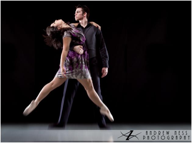 Josh and Rachel dancing