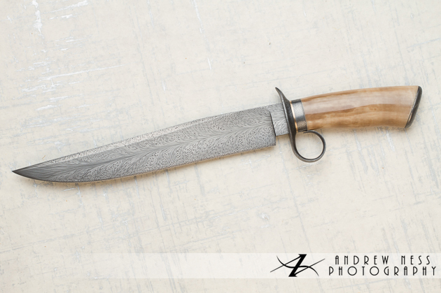 David Lisch Finger Guard Knife